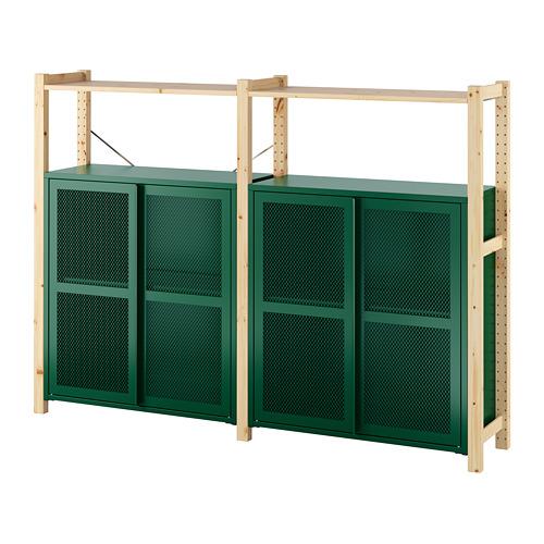 IVAR 2 secciones/baldas/armarios