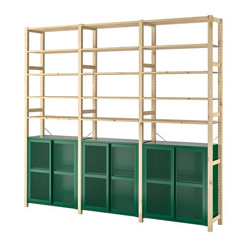 IVAR 3 secciones/armario/baldas