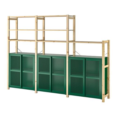IVAR 3 secciones/baldas/armario