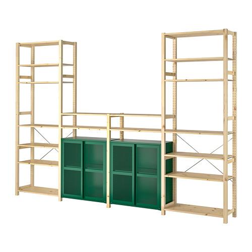 IVAR 4 secciones/baldas/armario