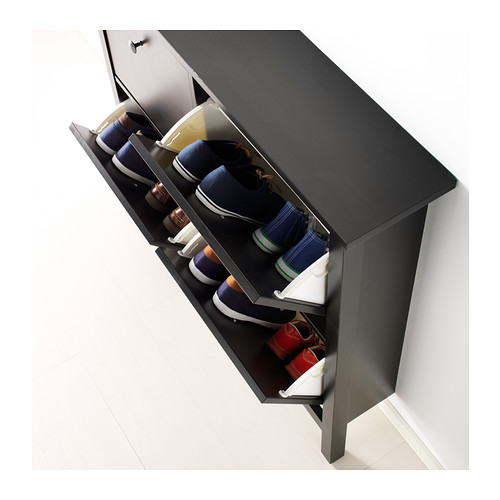 HEMNES zapatero con 4 compartimentos