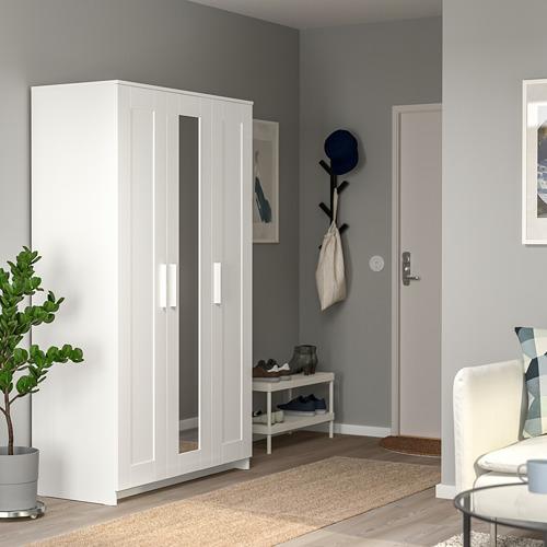 BRIMNES armario con 3 puertas