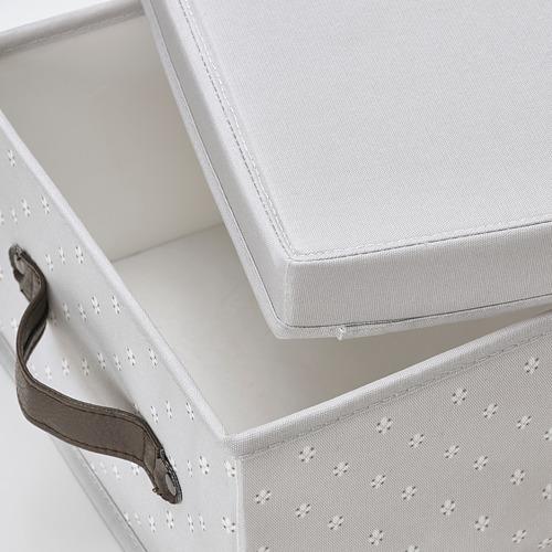 BLÄDDRARE caja con tapa, 25x35x15cm