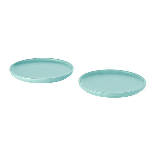 KEJSERLIG  juego de 3 platos de  18cm de diámetro