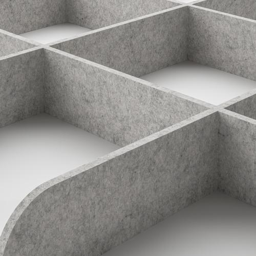 KOMPLEMENT bandeja extraíble&separador