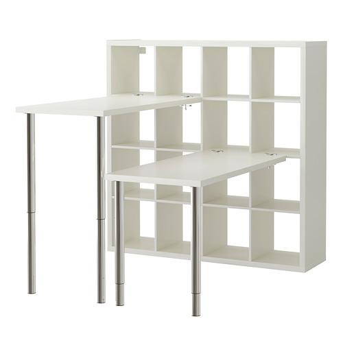 KALLAX combinación escritorio