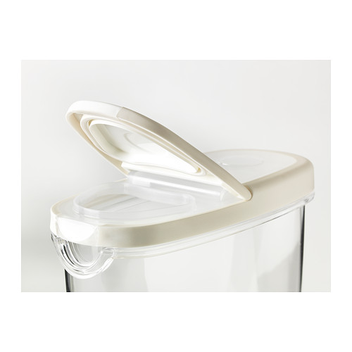 IKEA 365+ bote con tapa, 1,3 litros