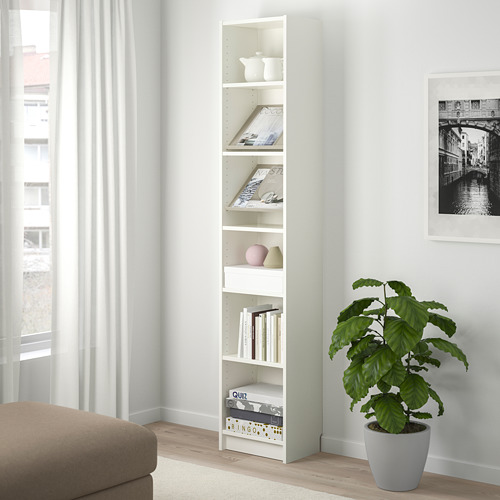 BILLY/BOTTNA librería con vitrina