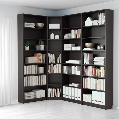BILLY librería, 135/215x28x237cm