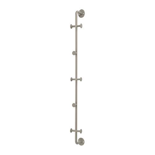 SNYGGING soporte vertical 8 ganchos, 67cm de altura