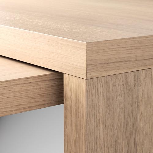 MALM escritorio con tablero extraíble