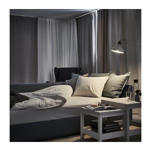 HOLMSUND sofá cama de esquina, 3 plazas
