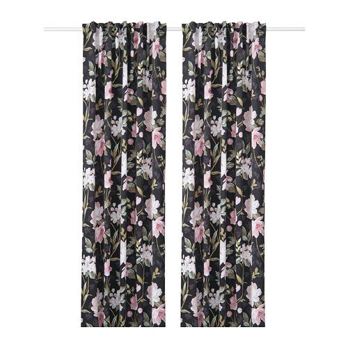 ROSENMOTT cortina, 1 par, 145x300cm