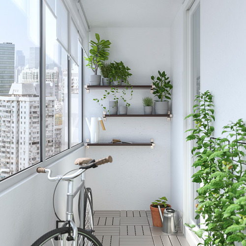 GRANHULT/BERGSHULT combi estante pared