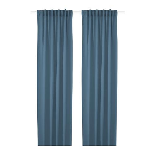 HILJA cortina, 1 par, 145x300cm
