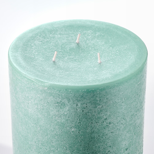 ANBRINGA vela gruesa sin perfum 3 mechas