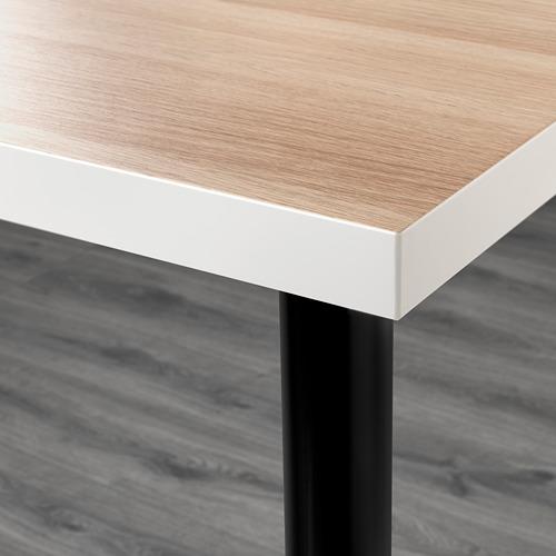 LINNMON/OLOV escritorio/mesa, 150x75cm, patas regulables
