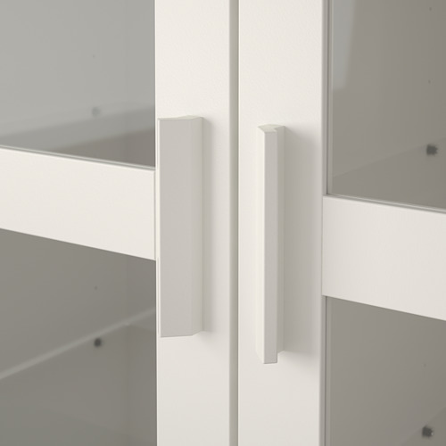 BRIMNES/BURHULT combinación almacenaje con mueble de TV, 338x41x190cm