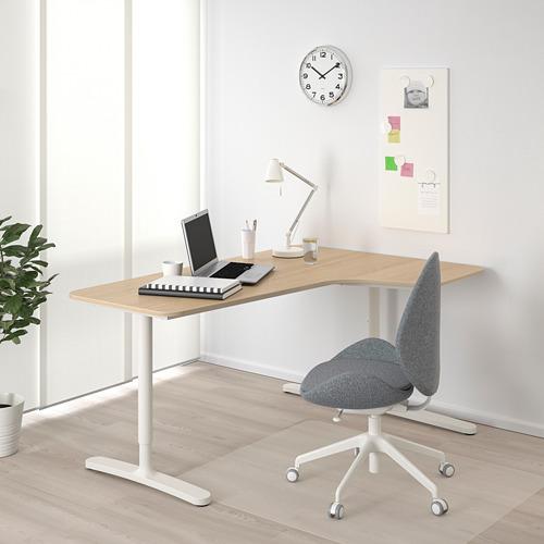 BEKANT combinación escritorio ala dcha