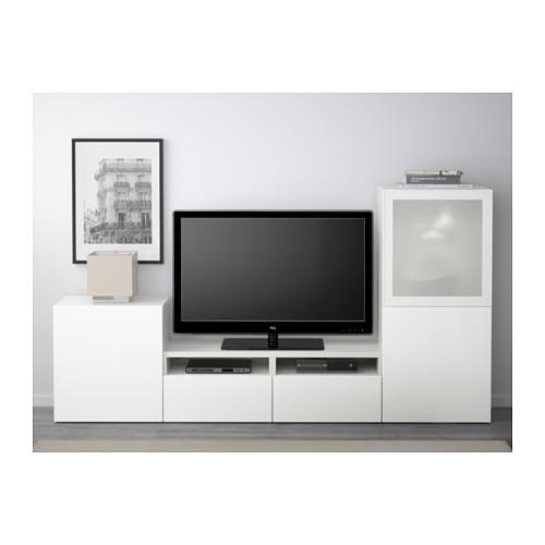 BESTÅ almacenaje mueble TV con 2 cajones y 3  puertas