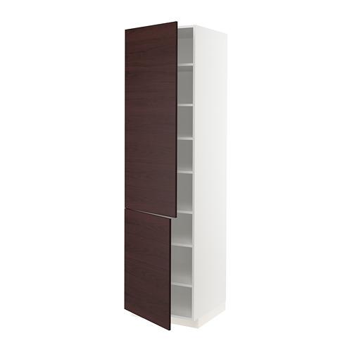 METOD armario alto cocina baldas puertas