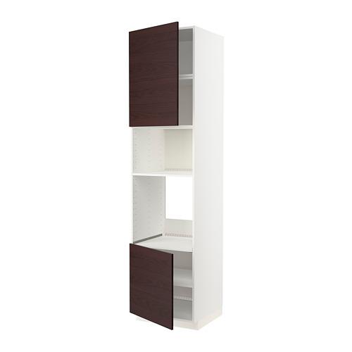 METOD armario alto horno micro 2 puertas