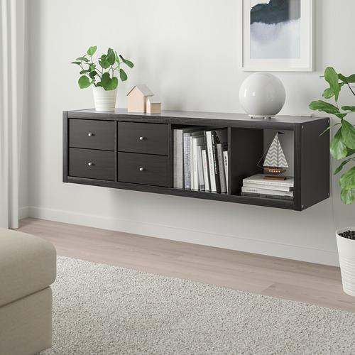 KALLAX estantería+2 accesorios
