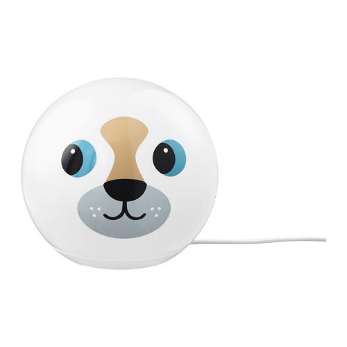 ÄNGARNA lámpara de mesa LED integrada