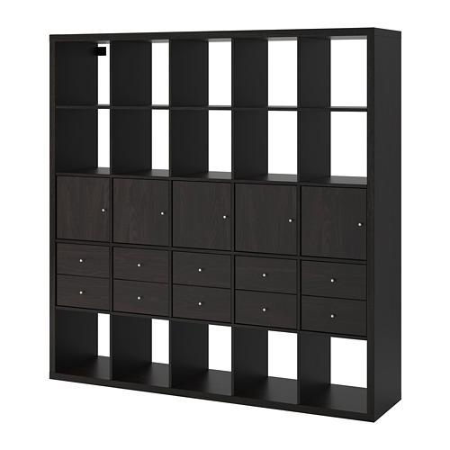 KALLAX estantería +10 accesorios