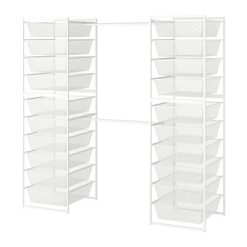 JONAXEL estructura+cestas de rejilla estrecha+barras