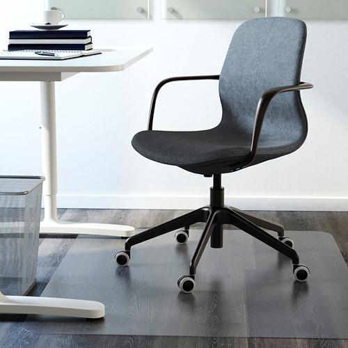 LÅNGFJÄLL silla de trabajo con reposabrazos