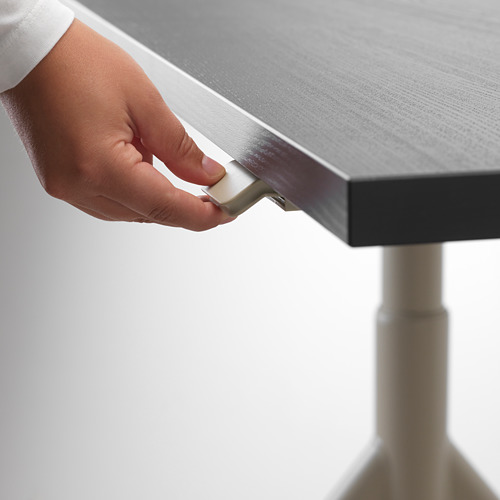 IDÅSEN escritorio sentado/de pie, 180x60cm, patas regulables