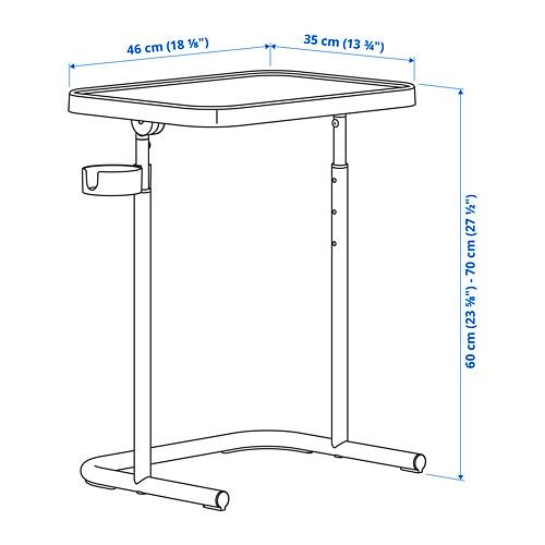 BJÖRKÅSEN soporte portátil, 46x65cm