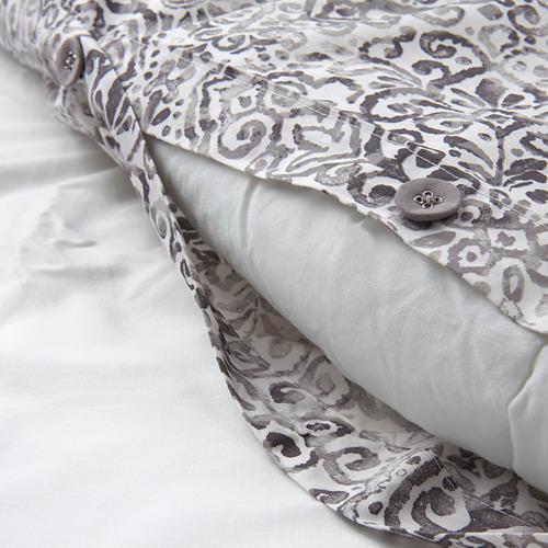 ÄNGSKLOCKA funda nórdica para cama individual y funda almohada, 250 hilos
