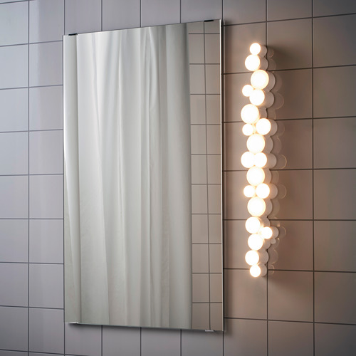 SÖDERSVIK lámpara de baño led integrada para pared