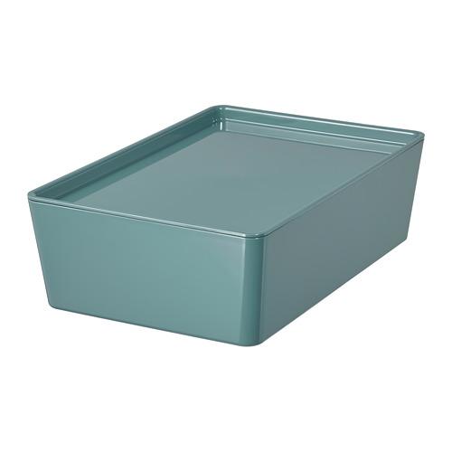 KUGGIS caja con tapa, 18x26x8cm