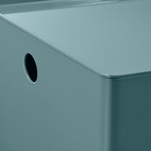 KUGGIS caja con tapa, 26x35x15cm