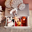 SMÅSTAD banco con almacenaje juguetes, 90x50x48cm