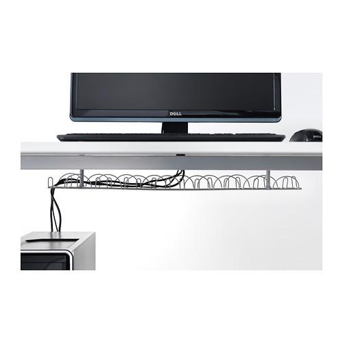 SIGNUM regleta para cables horizontal, 70x16cm