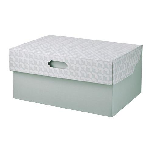 HYVENS caja con tapa, 33x23x15cm
