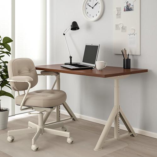IDÅSEN escritorio, 120x70cm, patas regulables