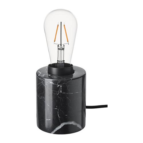 MARKFROST/LUNNOM lámpara mesa+bombilla