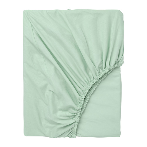 DVALA sábana bajera ajustable, 152 hilos, 90cm