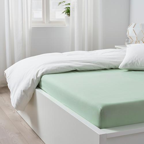 DVALA sábana bajera ajustable, 140x200cm, 152 hilos