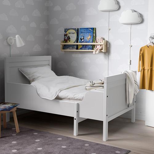SUNDVIK estructura cama extensible con somier de láminas