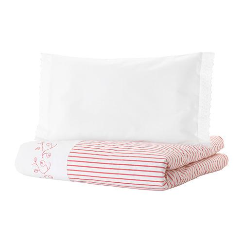 GULSPARV funda nórdica y funda almohada para cuna