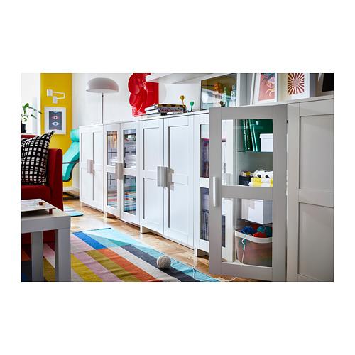BRIMNES armario con puertas