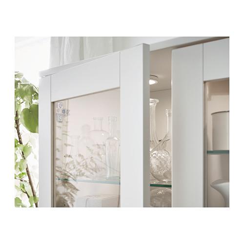 BRIMNES vitrina, 80x35x190cm