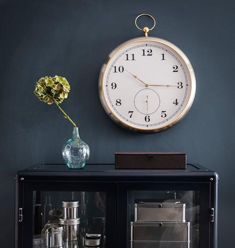 KUTTERSMYCKE reloj de pared, 46cm de diámetro
