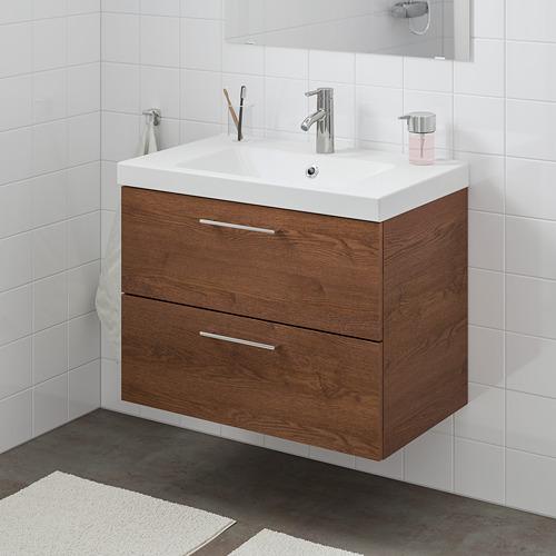 ODENSVIK/GODMORGON mueble de baño para lavabo con 2 cajones, 83x49x64cm